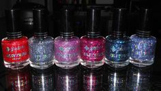 Imperfectly Painted- New Jordana Specialty Glitter Shades