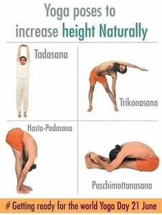 The 4 courses of Yoga are Jnana Yoga, Bhakti Yoga, Karma Yoga, and Raja Yoga. These 4 paths of Yoga are identified as a whole. The 4 paths of Yoga work hand in hand. Yoga Poses For Men, Easy Yoga Poses, Yoga For Men, Increase Height Exercise, Tips To Increase Height, Yoga Fitness, Fitness Workout For Women, Fitness Tips, Health Fitness