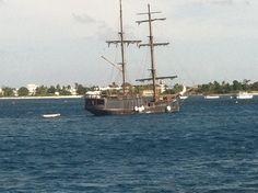 Grand Cayman Island ~ Pirate ship