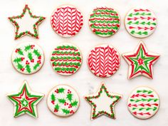 Sugar Cookies with Royal Icing Recipe : Food Network Kitchen : Food Network - FoodNetwork.com