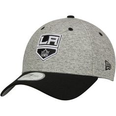 sale retailer 140a6 f9f4a Los Angeles Kings New Era Team Rogue 9FORTY Adjustable Hat - Gray Black