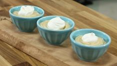 Judge Kyla Kennaley shows how to master this old school treat. How To Make Butterscotch, Butterscotch Pudding, Canadian Living Recipes, British Baking Show Recipes, Just Desserts, Dessert Recipes, Easy Pudding Recipes, Toffee Bits, Desert Recipes