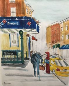 Dominoes Pizza - Miracle Art Gallery