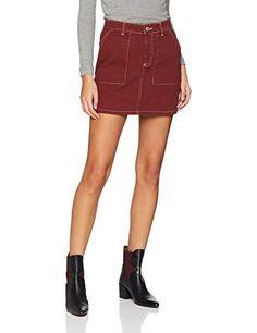 Petite rust skirt #8