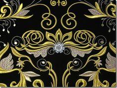 Bordado con hilo de oro y plata