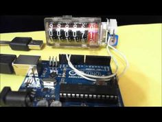 Driving a Stepper Motor Counter with the Arduino. Cyclometers are mechanical pulse counters used in metering of water, gas or electricity. The gearbox advanc. Arduino Stepper, Diy Store, Stepper Motor, Counter, Flip Clock, Youtube, Tinkerbell, Youtubers, Youtube Movies