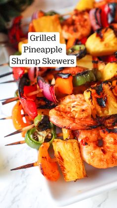 Healthy Grilling Recipes, Cooking Recipes, Easy Grill Recipes, Recipes For The Grill, Healthy Shrimp Recipes, Easy Grilled Shrimp Recipes, Healthy Summer Dinner Recipes, Grilled Vegetable Recipes, Vegetarian Grilling