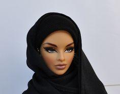 Hijab making Barbie look fabulous Barbie Style, Barbie I, Black Barbie, Barbie World, Barbie Clothes, Dubai Fashionista, Beautiful Hijab, Beautiful Dolls, Pretty Dolls