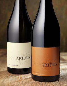 Aridus Wine Company by CF Napa Brand Design, via Behance  #taninotanino #vinosmaximum