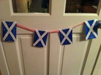 Burns night bunting