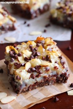 Eat Cake For Dinner: Almond Joy Magic Cookie Bars