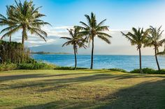 Views from an oceanfront lot in the Kuau Area of Paia