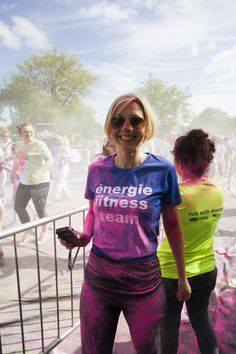 The energie fitness team was out to support.