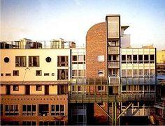 Conjunto de Viviendas Kochstrasse, Berlín. Josep Martorell, Oriol Bohigas, David Mackay 1985 - 1995