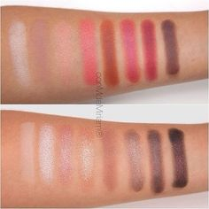 "SWATCHES ""NEW-TRALS vs NEUTRAL""... by Makeup Revolution"