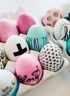 40 beautiful Easter eggs - you will surely want to make every single one - Comfortable home