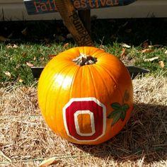 Got the pumpkin ready for decoration