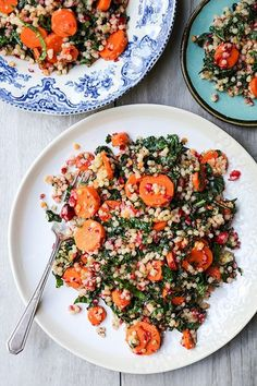 The Rise Of Private Label Brands In The Retail Meals Current Market Wilted Kale And Couscous Salad With Carrots And Cranberries Healthy Salad Recipes, Pasta Recipes, Whole Food Recipes, Vegetarian Recipes, Dinner Recipes, Couscous Recipes, Dessert Recipes, Tomato Cream Sauces, Couscous Salad
