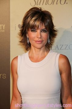 Hairstyles to Look Younger | ... Lisa Rinna Short Shaggy Hair for 2012 – 2013 Short & Long Hairstyles