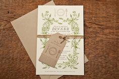 Invitation: Dinner Garden Party