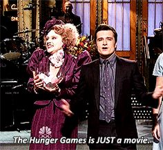 """She made us believe, just for a second, that Effie Trinket is real. 