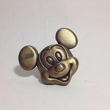 Cowboy mickey mouse home decor ceramic kitchen drawer door brass ...