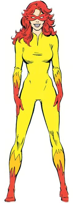 A full character profile for Marvel Comics' Firestar across the 1980s and 1990s, with the New Warriors and Avengers. Pictures, powers, biography, quotes...