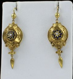 Southern Classic Jewelry - Victorian with black enamel and seed pearl