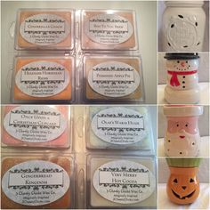 Wax Melt Fall or Winter Bundle.  Choose Fall or Winter Wax melts then choose your burner *Snowman *Pumpkin *Santa *Mason Jar Home Sweet Home  Fall Bundle includes:  Cinderella's Coach Headless Horseman Rides Boo To You Brew Poisoned Apple Pie  Winter Bundle includes: Once Upon A Christmas Cupca