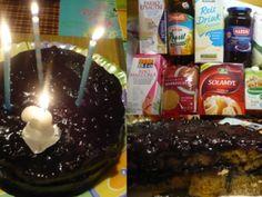 Dort bez mléka a vajec s borůvkovým krémem | Pro Alergiky