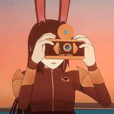 """I'm Velvet, be anyone at Beacon)) I snapped a quick photo of your weapon, lowering my little camera.sorry,"""" I smile sheepishly. Rwby Velvet, Velvet Scarlatina, Western Anime, Rwby Ships, Blake Belladonna, Team Rwby, Rwby Fanart, Rooster Teeth, Fictional World"""