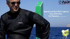 Immergiti con Noi il 20 e 21 Luglio nell' Area Marina Protetta di Portofino Per Informazioni e prenotazioni : info@4sub.it Tel : 393 3303490/02 48950229