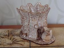 Studio Penpol Pottery Posy / Flower Vase - Mouse, Hedgehog, Mushroom  & Snail