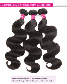 Malaysian Virgin Human Hair Weft Body Wave Weave Virgin Remy Hair Extensions,One More Malaysian Virgin Human Hair Body Wave Weave Hair 3 or 4 Bundles #malaysianhair #hairbundles