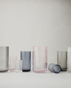 Glass vase from Lyngby Porcelæn buy at Connox Design-Shop. Wabi Sabi, Vintage Design, Glass Design, Danish Design, Home Accessories, Glass Art, Glass Room, Home Goods, Sweet Home