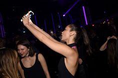 Bella Hadid || Marc Jacobs & Benedikt Taschen Celebrate Naomi @ The Diamond Horseshoe in NY (April 08, 2016)