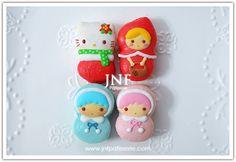【Handmade】Macaron ★Little Twin Stars★