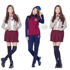 161125 • #소원 #Sowon for SMART Uniform lookbook update💕 @sowonation