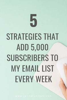 My email list grew over 30,000 subscribers last month alone which honestly is a little hard to even wrap my brain around. That's 1,000 new subscribers each day… wild. You know I'm an open book and so today I wanted to share some of the fresh new ways we're growing my email list consistently by over 5,000 each and every week in the hopes that it might inspire you to try some of these ideas out and see if they might work for your businesses as well. Check it out here.