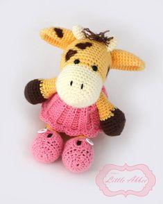 Download Now  CROCHET PATTERN Jill the Giraffe PDF por littleabbee, $4.00