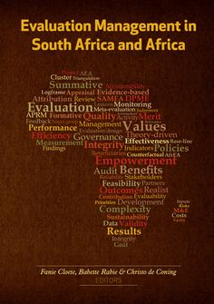 This blind peer reviewed book systematically records, analyses and assesses for the first time in a single volume the implications of the global development and management of professional evaluation for the African continent. The book deals with the most strategic contemporary evaluation themes. Peer Review, Cover Pages, Quotable Quotes, Assessment, Blind, The Book, Finance, Management, African