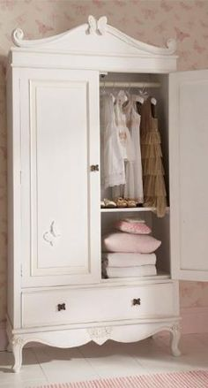 Nursery Armoire, Converted From An Antique China Hutch. Black Glaze Over  Light Grey Chalk Paint. | Furniture | Pinterest | Nursery Armoire, Gray  Chalk Paint ...