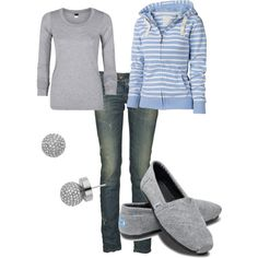 """""""Comfy Casual"""" by lgull on Polyvore"""