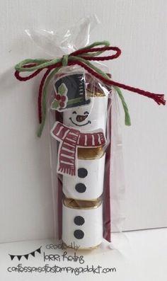Nugget Snowman