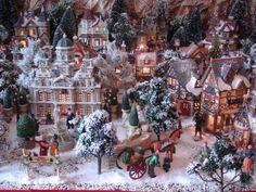 Lemax village Christmas Tree Village, Christmas Town, Christmas Scenes, Christmas Villages, Noel Christmas, Merry Little Christmas, Diy Christmas Ornaments, Department 56, Village Miniature
