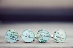 Such a good idea for groomsmen gifts, city cufflinks! by Brandon Kidd Photography (via style me pretty)