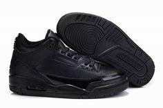 pretty nice a1c27 be1e3 Air Jordan 3 Retro Black Black Basketball Shoes for sale at Air Jordan 3  Retro online store