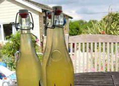 Bodza- és akácvirágból készült limonádé | Gasztroangyal Carafe, Syrup, Smoothies, Drinks, Bottle, Home Decor, Elder Flower, Smoothie, Drinking
