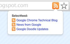Chrome Web Store - Extensión Suscripción a RSS (de Google)
