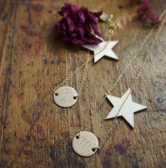 Gargatilla/necklace & Pulsera/brazalet Mini u